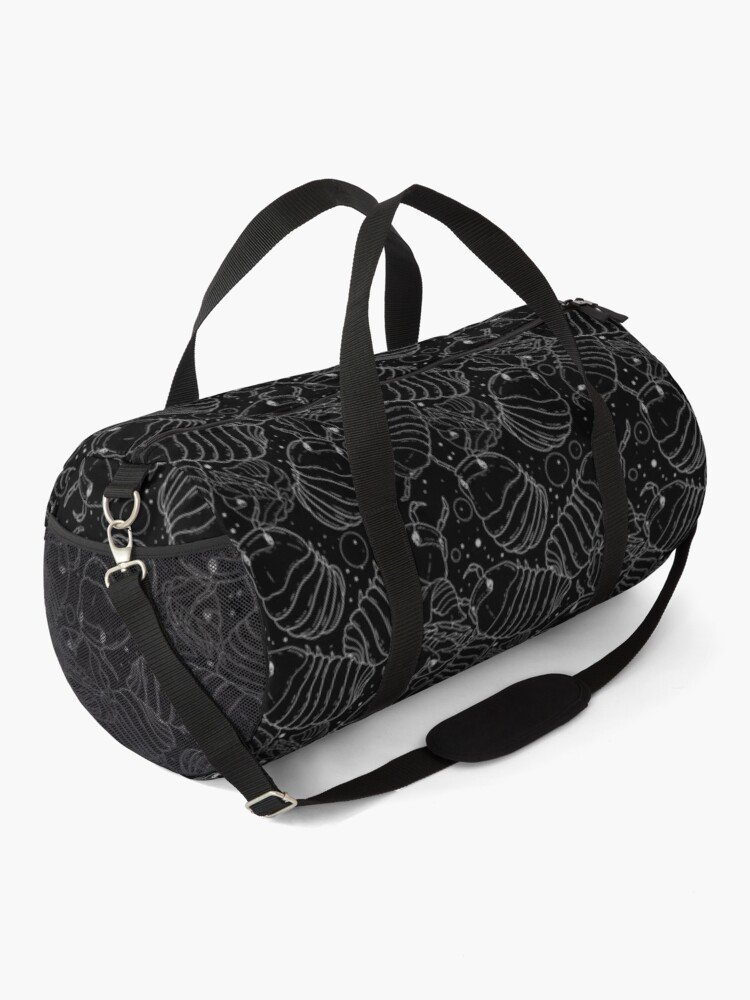 Alternate view of Monochrome Isopods 2 Duffle Bag
