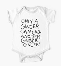 Only A Ginger One Piece - Short Sleeve