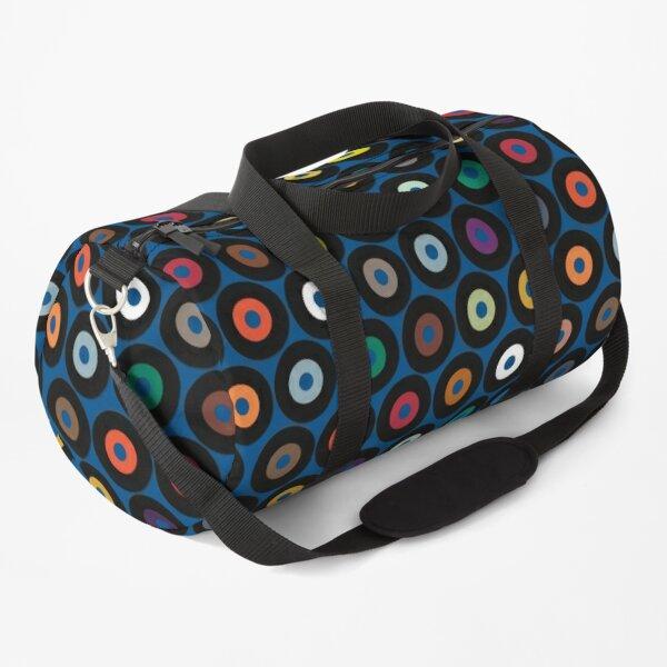 VINYL blue Duffle Bag