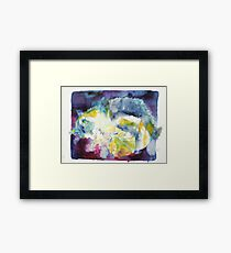 CATS PLAYING Framed Print