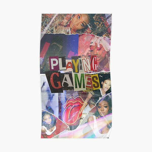 Playing Games Poster