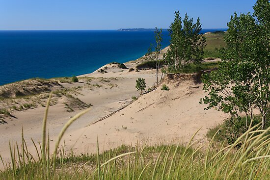 Sleeping Bear Dunes and South Manitou Island by Daniel Brown