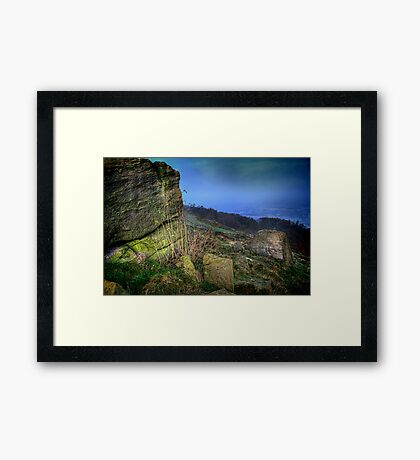 Chevin Surprise View  Framed Print