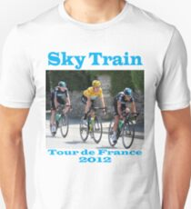 Wiggins Sky Train - Tour de France 2012 Unisex T-Shirt