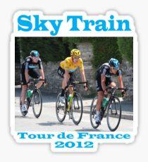 Wiggins Sky Train - Tour de France 2012 Sticker