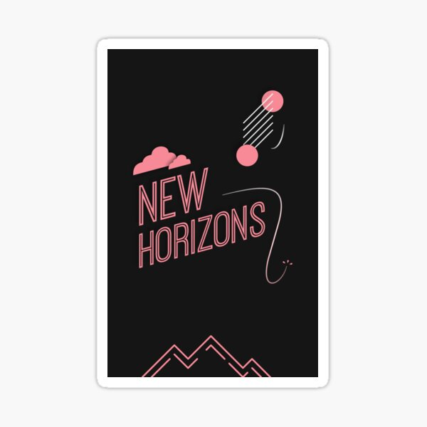 New Horizons Sticker
