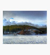 The Kite Boarder Photographic Print