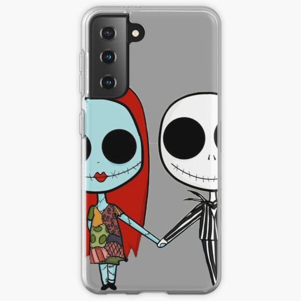 Jack and Sandy - The Nightmare Before Christmas Samsung Galaxy Soft Case