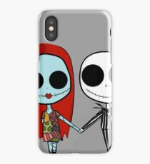 Jack and Sandy - The Nightmare Before Christmas iPhone Case