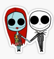 Jack and Sandy - The Nightmare Before Christmas Sticker