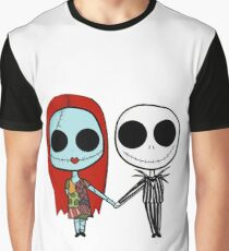 Jack and Sandy - The Nightmare Before Christmas Graphic T-Shirt