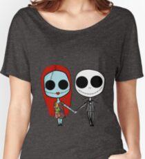 Jack und Sandy - Der Alptraum vor Weihnachten Baggyfit T-Shirt