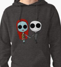 Jack and Sandy - The Nightmare Before Christmas Pullover Hoodie