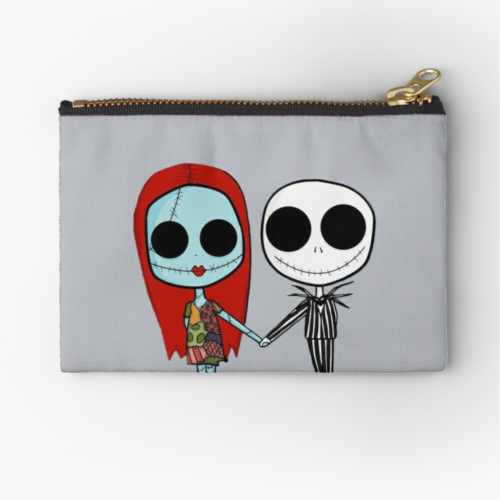 Jack and Sandy - The Nightmare Before Christmas Zipper Pouch
