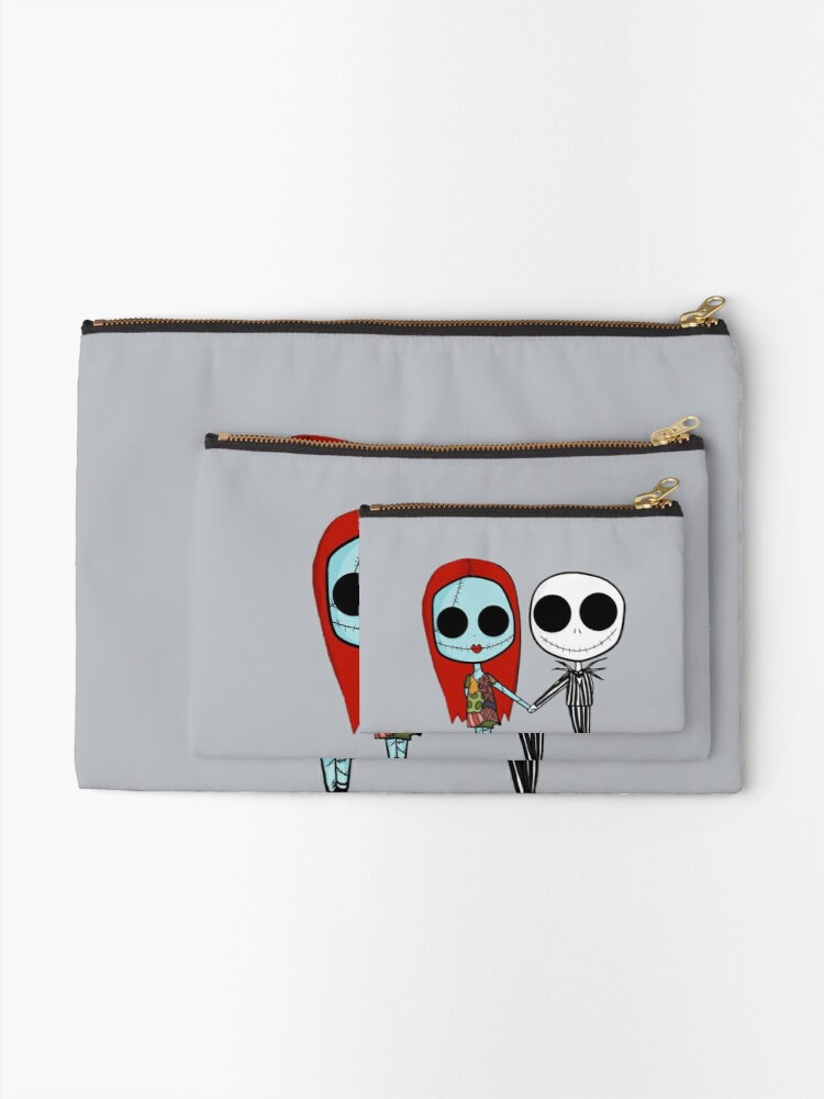Alternate view of Jack and Sandy - The Nightmare Before Christmas Zipper Pouch