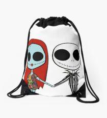 Jack and Sandy - The Nightmare Before Christmas Drawstring Bag