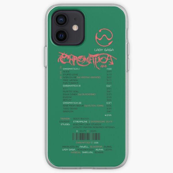 recibo chromatica Funda blanda para iPhone