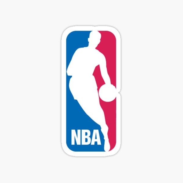 Logo de basket-ball NBA Sticker