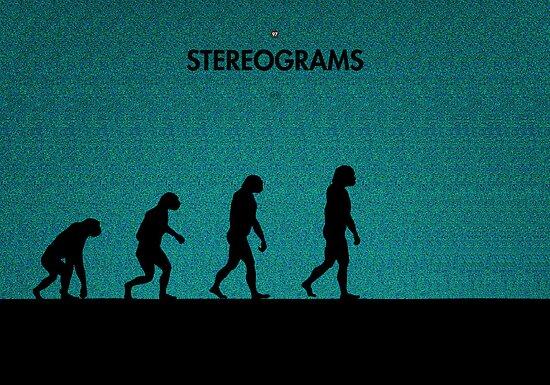 99 Steps of Progress - Stereograms by maentis