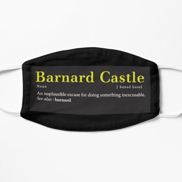 Barnard Castle: A new word in the English Language. Mask