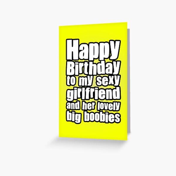 Happy Birthday Girlfriend Greeting Card