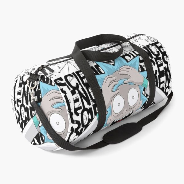 Rick Genius Crazy, Crazy about science | Rick Crazy Genius | Rick and Morty inspired design Duffle Bag
