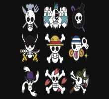 The Straw Hat Crew's Jolly Roger | Unisex T-Shirt