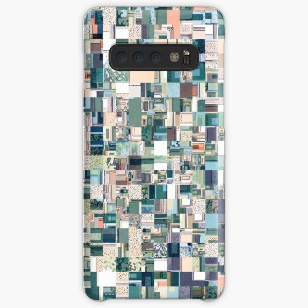 Jumbled Geometric Abstract Samsung Galaxy Snap Case