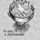 Grill a Spottdrossel (PUN PANTRY) von punpantry