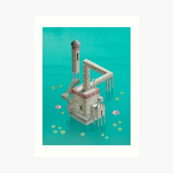 Real Monument Valley  Art Print
