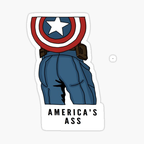 USA's Booty - CAP Sticker