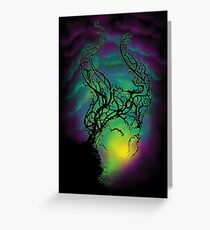 Twisted Thicket Greeting Card