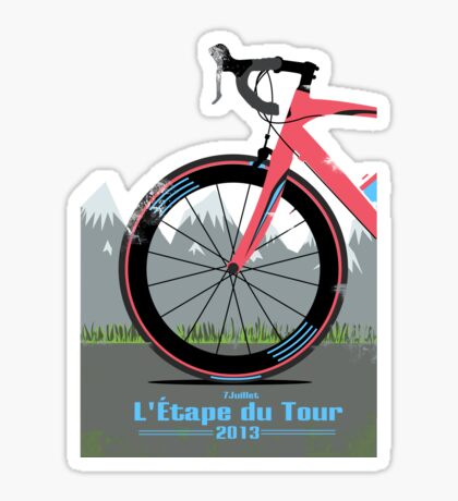 L'Étape du Tour Bike Sticker