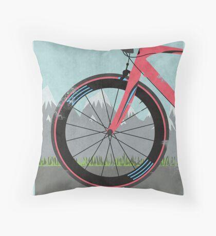 L'Étape du Tour Bike Throw Pillow