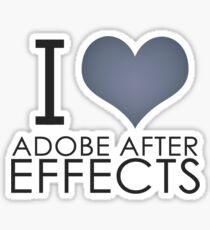 I love AE Sticker