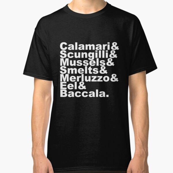 7 Fishes Seven Christmas Eve Italian  Classic T-Shirt