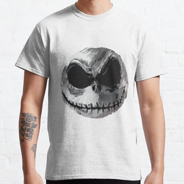Jack Skellington Face 2 - The Nightmare Before Christmas Classic T-Shirt