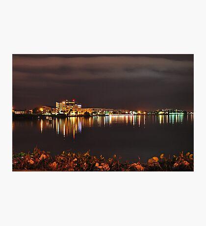 Punta Gorda Fisherman's Village Waterfront  Photographic Print