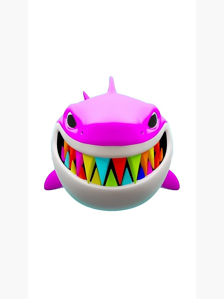 6ix9ine Shark Greeting Card By Coolkinglou Redbubble