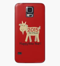Happy New Year 2015 Year of the Goat Case/Skin for Samsung Galaxy