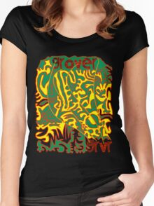 Trip on GRVR Women's Fitted Scoop T-Shirt