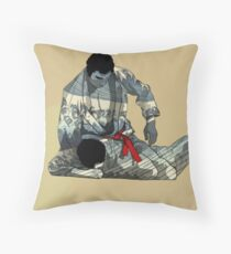 The Ground is my Ocean Part two Throw Pillow