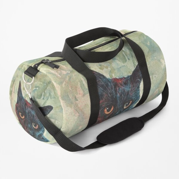Pooky the Black Cat Duffle Bag