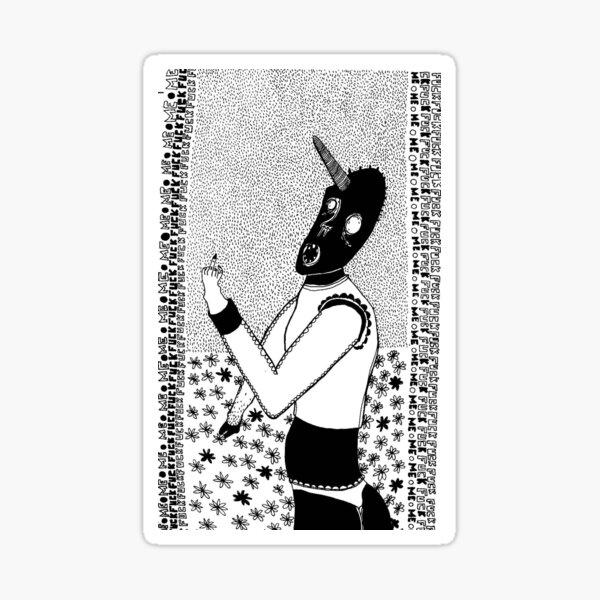 LICORNE Sticker