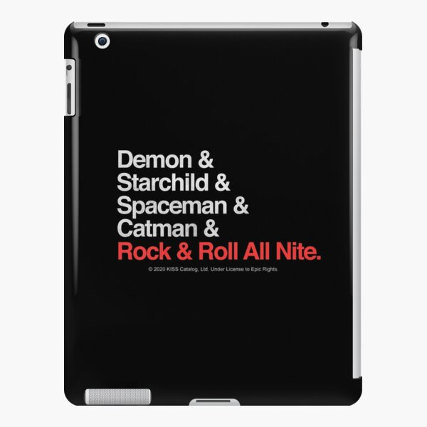 Rock and Roll All Nite iPad Snap Case