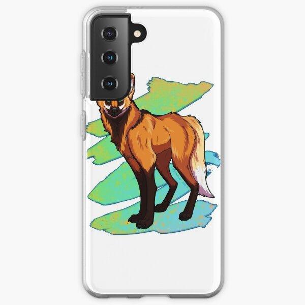 Maned Wolf Samsung Galaxy Soft Case