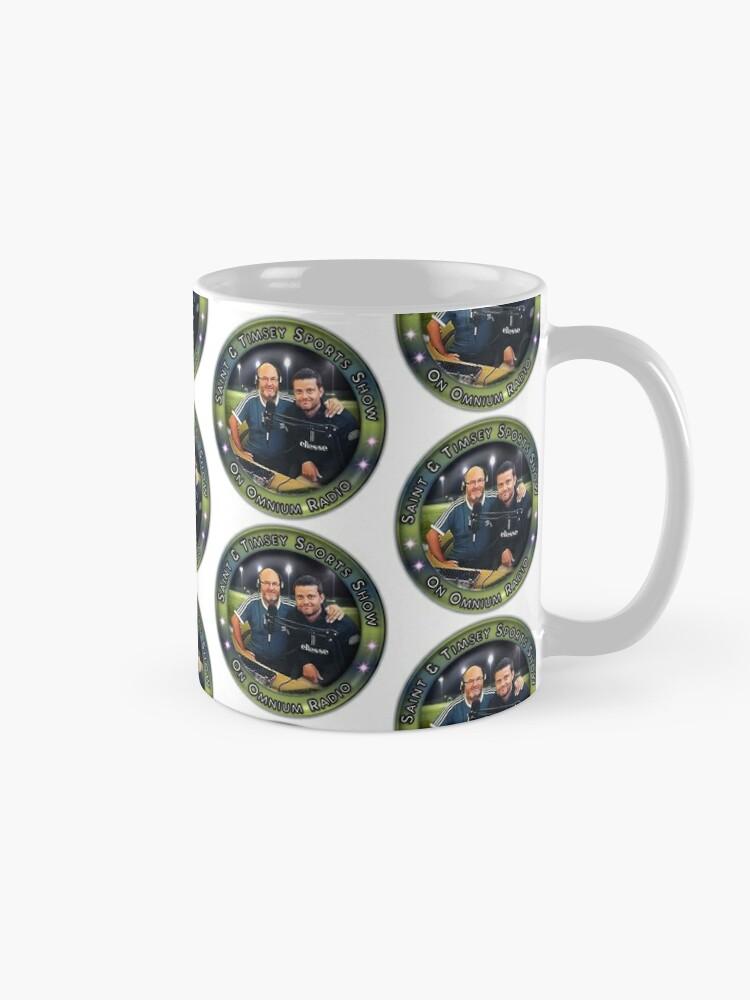 Alternate view of Saint & Timmsy Sports Show Mug