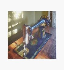 Vintage Sewing Machine and Shadow Scarf