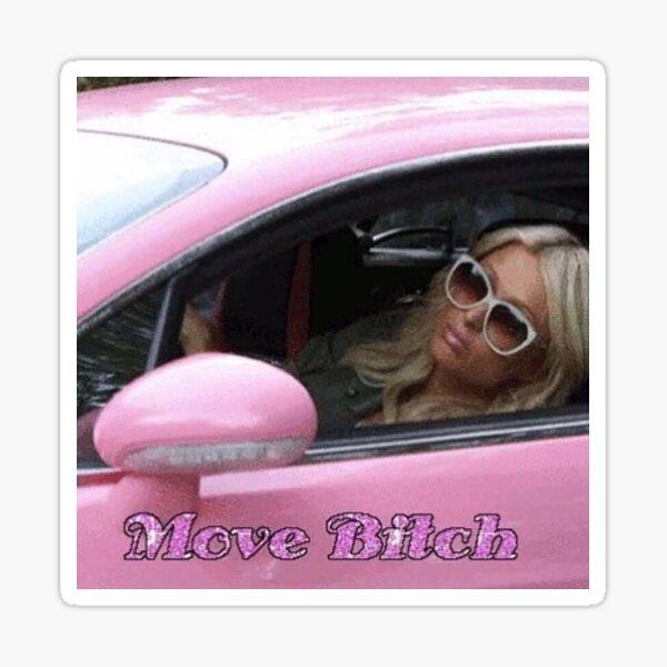 Move Bitch- Paris Hilton Sticker