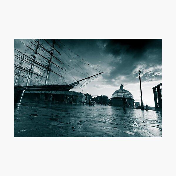 Stormy Cutty Sark Photographic Print